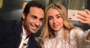 أحمد فهمي وخطيبته
